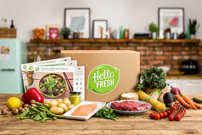 Subscription Box - Hello Fresh