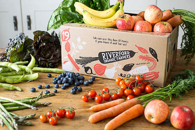 Subscription Box - Riverford Box