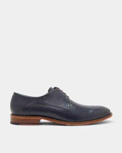 IRRON Classic leather derby shoes