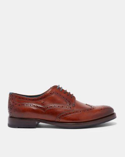 SENAPE Leather derby brogues