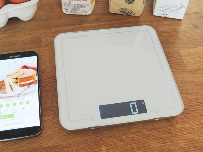 Salter Cook Bluetooth Pro Kitchen Scale