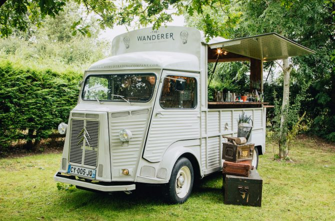 The Wanderer - Converted Citroen HY Van into a Cocktail Bar