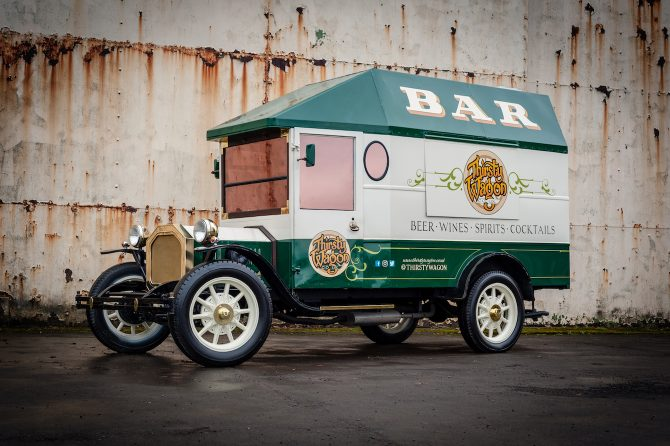 Thirsty Wagon - 1920's Converted Wagon into a Bar