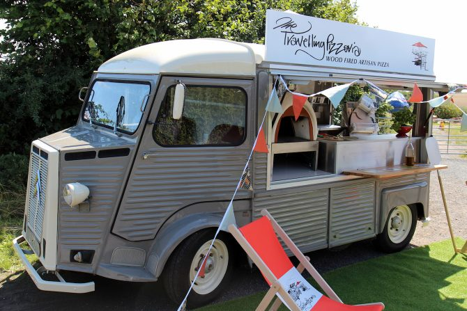 Travelling Pizzeria - Converted Citroen Van with Stone Pizza Oven