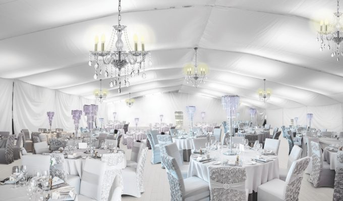 Ingliston Glasgow Indoor Marquee for Weddings