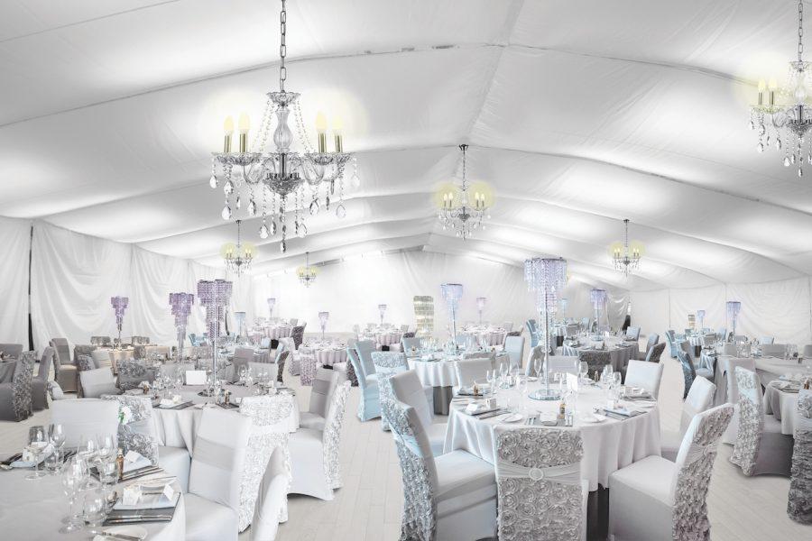 Ingliston Glasgow Indoor Marquee for Weddings