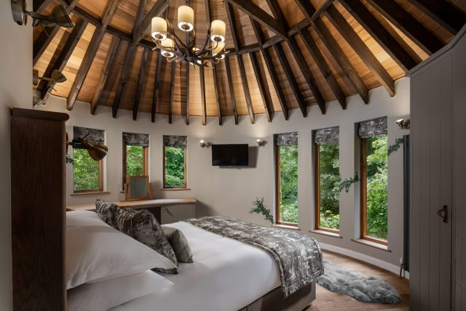 Luxury Treehouse Bedroom