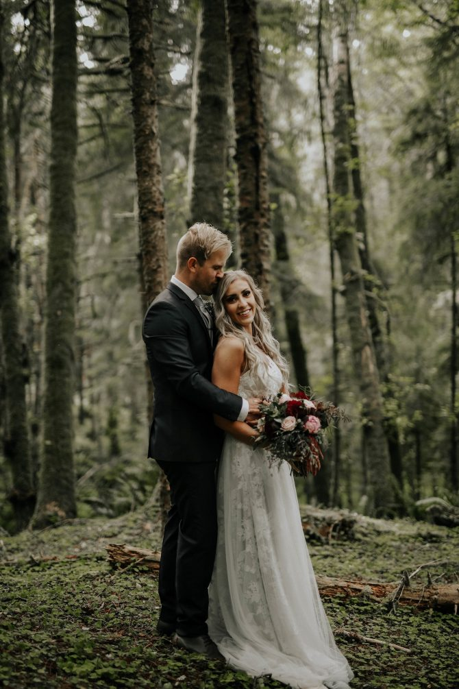 Forest wedding | Real Wedding Janay and Jono