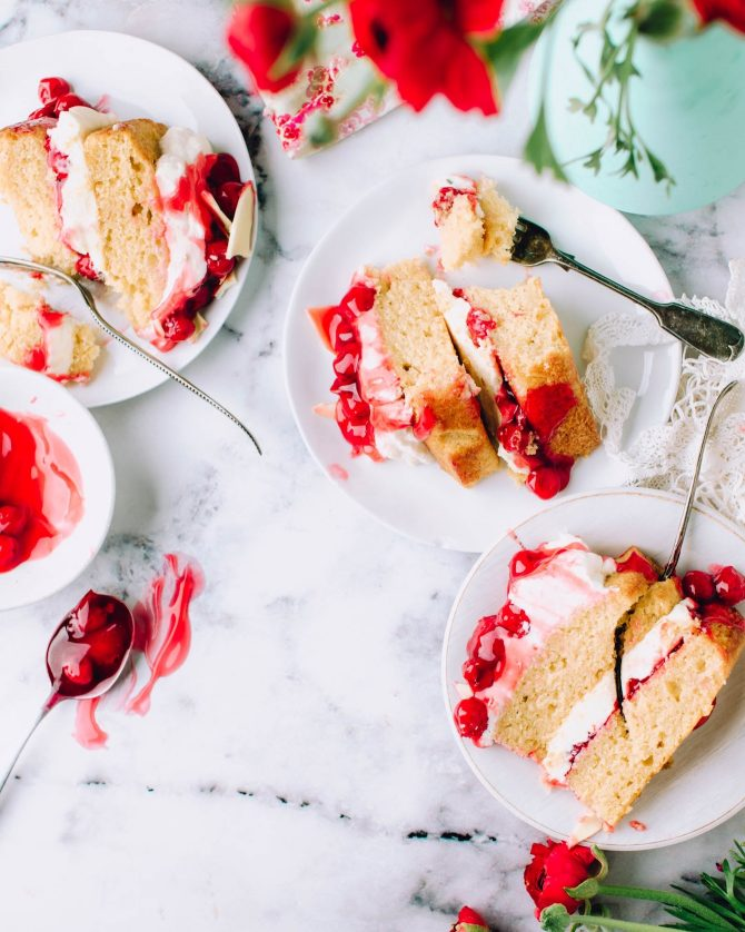 Slices of Strawberry Cake Jennifer Pallian