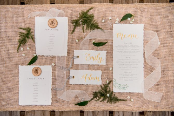 Exquisite stationery for wedding