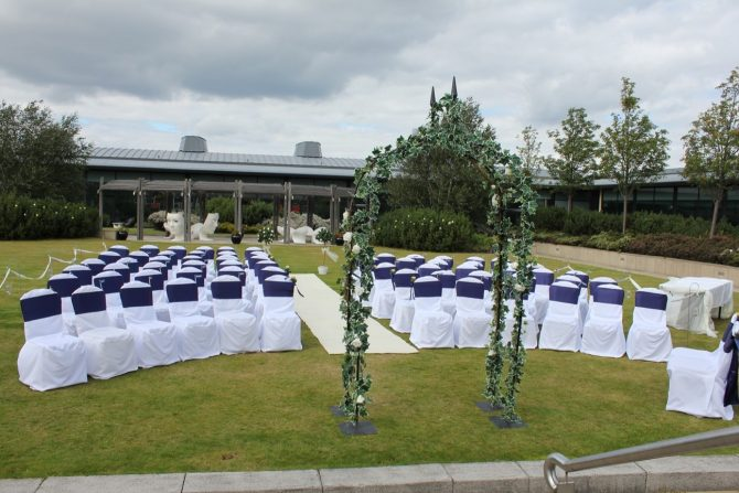 The Glasshouse Edinburgh Outdoor Ceremony