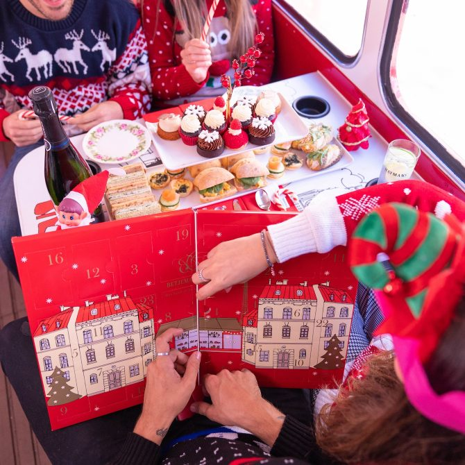 Brigits Bakery Christmas Afternoon Tea Bus 2 | Festive Days out in London