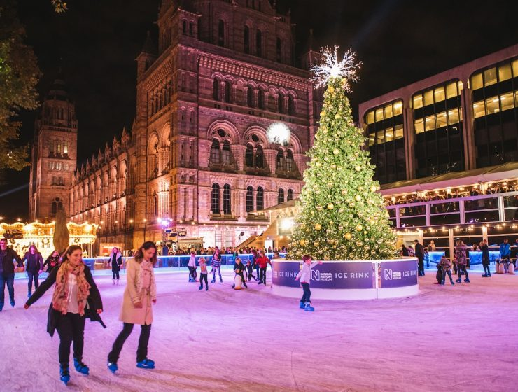Natural History Museum Ice Rink | Festive Days out in London