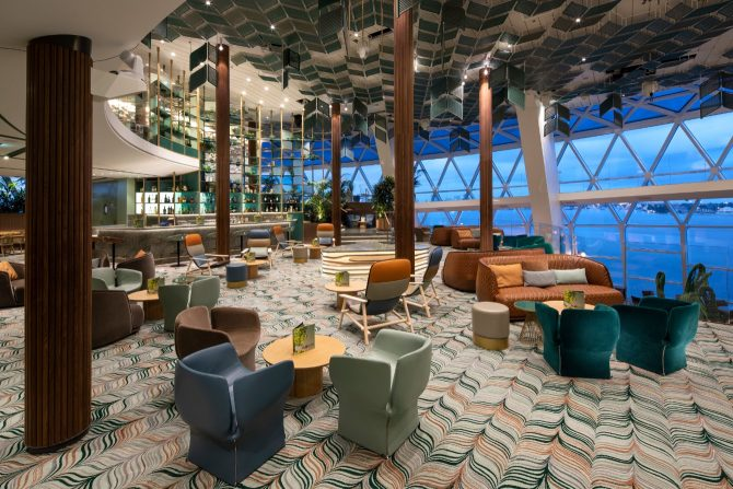 Celebrity Edge Eden Lounge