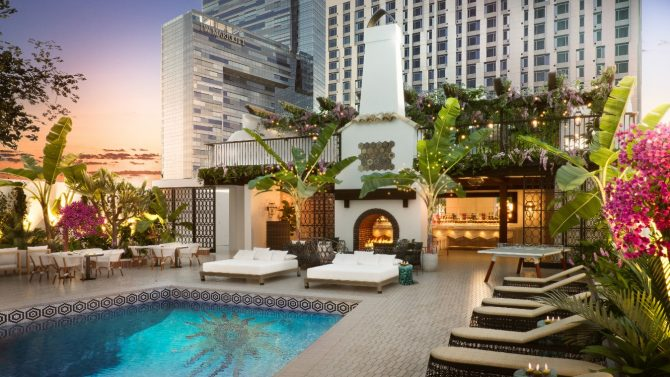 Hotel Figueroa | Luxurious Honeymoons in the USA 8
