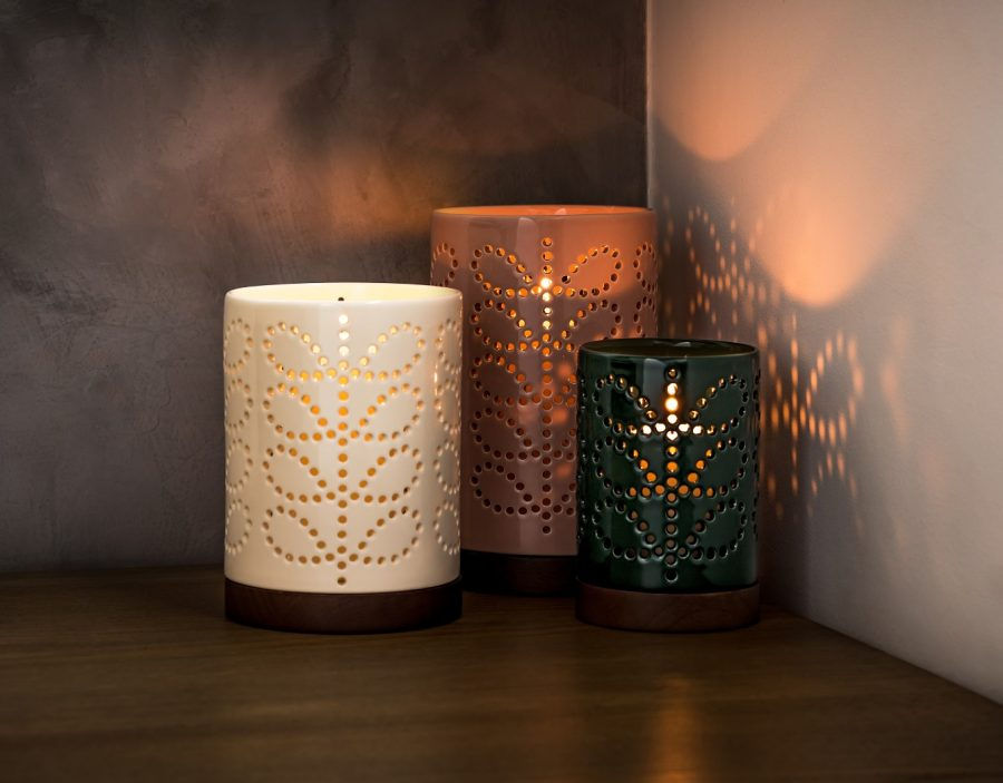 Orla Kiely Small Ceramic Lantern, £30, cuckooland.com