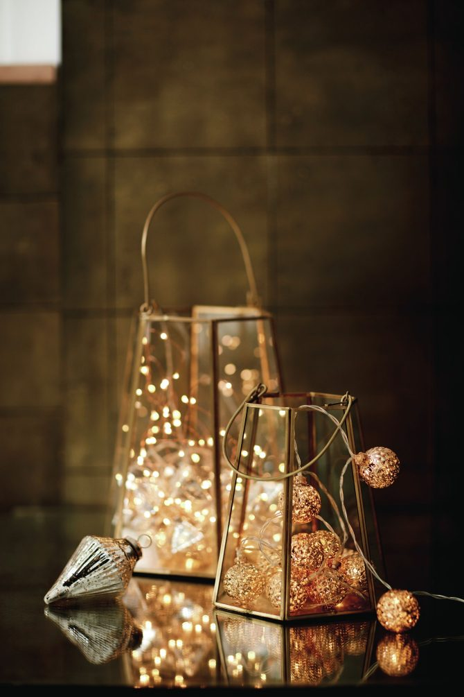 Small Nina Lantern, £25, marksandspencer.com