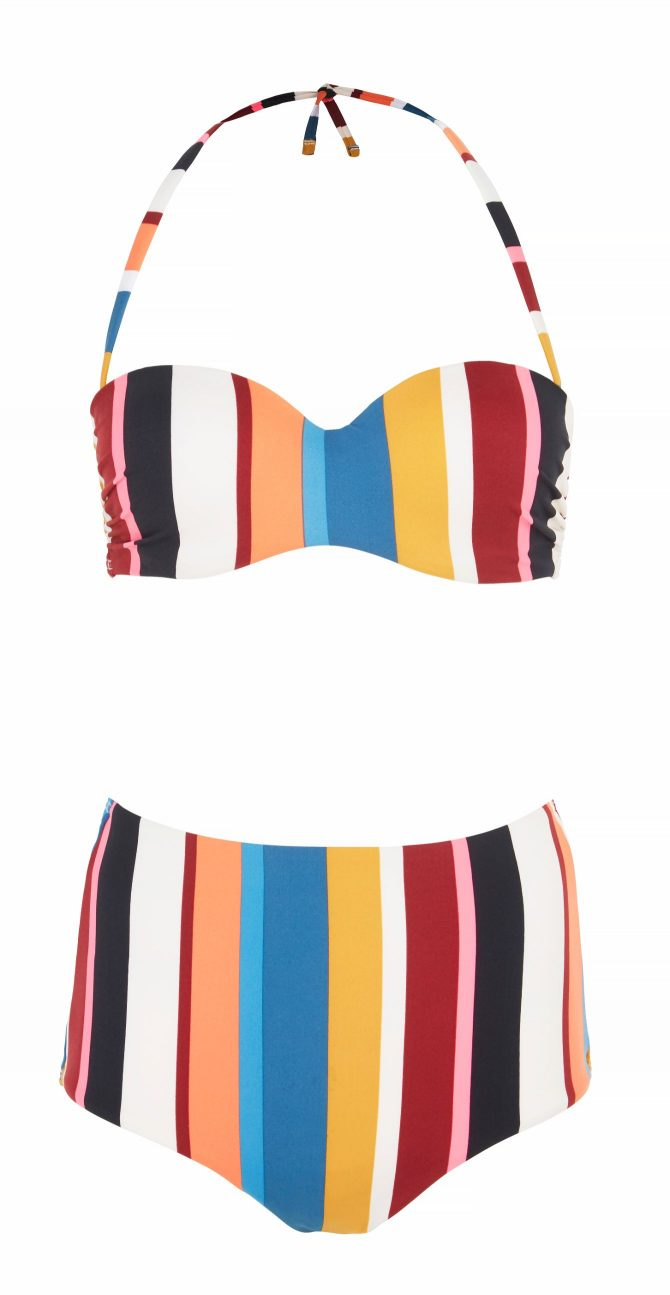 Marks & Spencer Bandeau Bikini Top and Bottoms